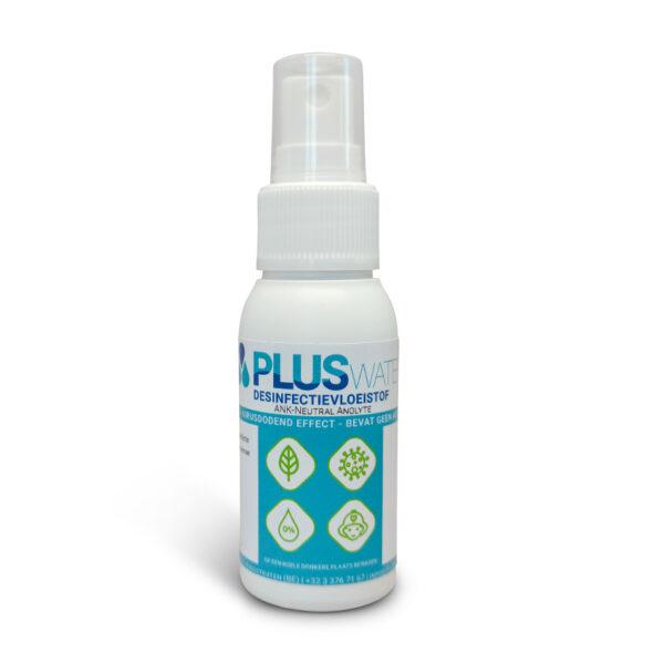 PLUSwater desinfectiemiddel Anolyte 50ml Mini spray