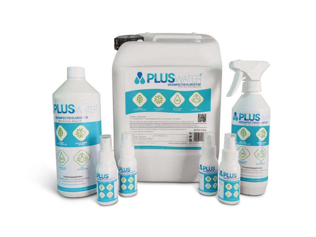 PLUSwater desinfectiemiddel ANK-Neutral Anolyte