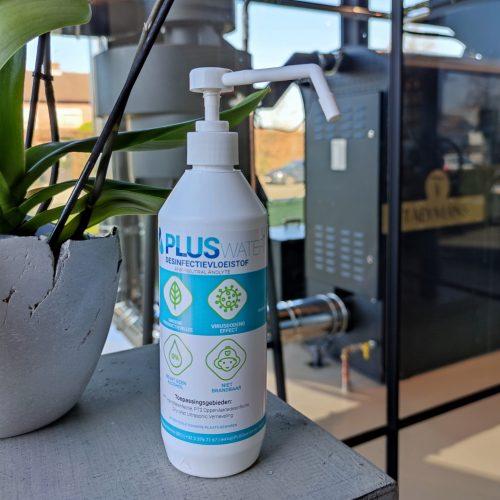 PLUSwater ANK-Neutral Anolyte duwspray bij Taeymans Coffee